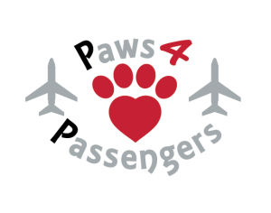 Paws for Passengers Logo