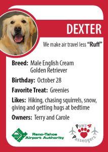 Dexter Trading Card
