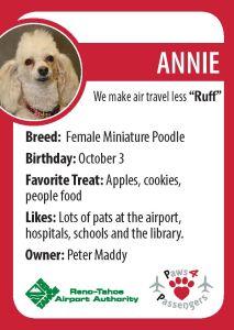 Annie Trading Card