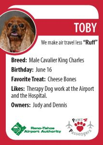 Toby Trading Card