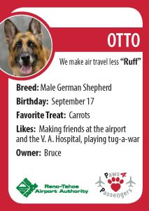 Otto Trading Card