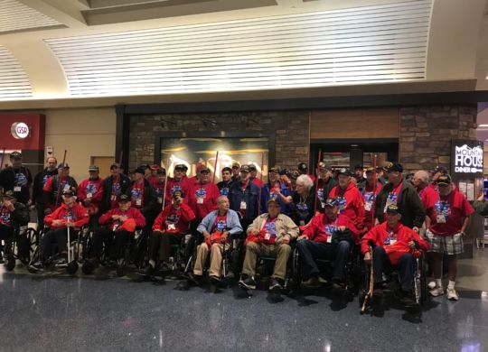 Honor Flight Nevada 10-12-18